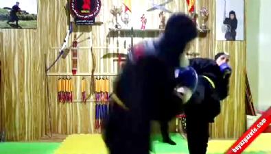 İranlı kadınlar ninjutsu eğitimi alıyor