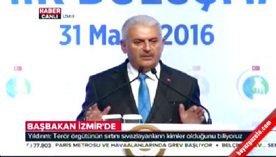 Başbakan Binali Yıldırım'ın İzmir konuşması