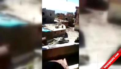 Teröristlerin vurulma anı kameraya yansıdı Haberi