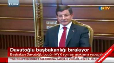 Başbakan Ahmet Davutoğlu bırakıyor!