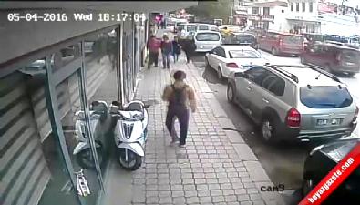 Sakarya'daki döner bıçaklı, silahlı kavga güvenlik kamerasında