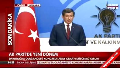 Başbakan Davutoğlu: Cumhurbaşkanımızla vefa ilişkimiz sürecek