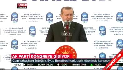 Cumhurbaşkanı Erdoğan AK Parti kongresi hakkında konuştu