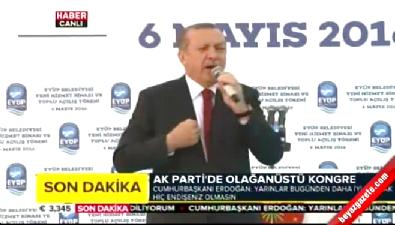 Cumhurbaşkanı Erdoğan: Başkanlık sistemi bizim için geleneksel