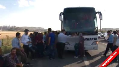Başkent'te yolcu otobüsüne silahlı saldırı