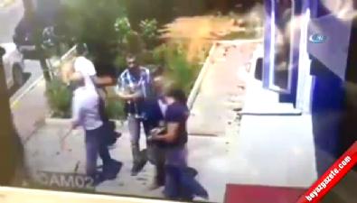 İstanbul'da minibüsçülerin silahlı kavgası kamerada İzle