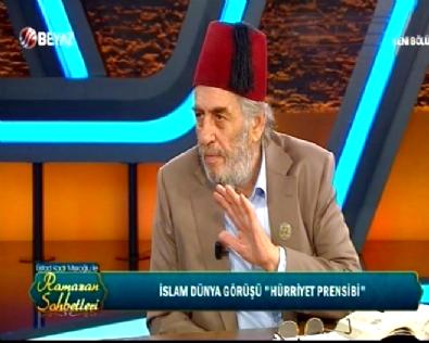 Üstad Kadir Mısıroğlu ile Ramazan Sohbetleri 27 Haziran 2016