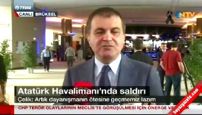 AB Bakanı Ömer Çelik'ten Avrupa'ya hem teşekkür hem çağrı