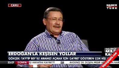 Melih Gökçek: Partide Sayın Erdoğan'la aramızı açmak isteyenler oldu İzle