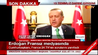 Cumhurbaşkanı Erdoğan: Genelkurmay Başkanı'nı Gülen'le görüştürmek istediler Haberi