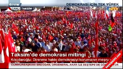 Kılıçdaroğlu'ndan Taksim Bildirisi