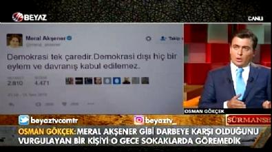 Osman Gökçek: Meral Akşener'i sokaklarda göremedik