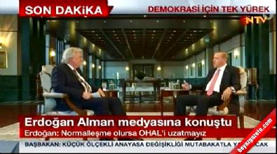 Cumhurbaşkanı Erdoğan: İdamı getiririz Video