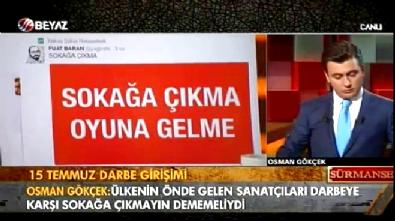 Osman Gökçek: Hakan Şükür Sakarya'da sokağa çıksana
