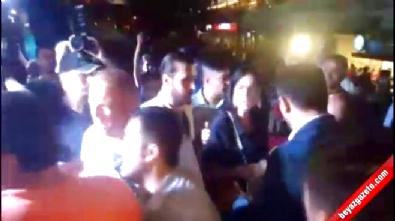 Aydın'daki demokrasi nöbetinde CHP'li başkana tepki
