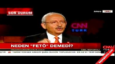 Kılıçdaroğlu Taksim'de neden 'FETÖ' demedi?
