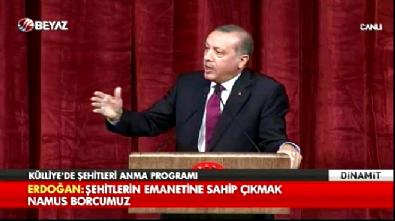 Cumhurbaşkanı Erdoğan: O aklı kendine sakla