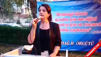 Pervin Buldan: Ölümden korkmuyoruz