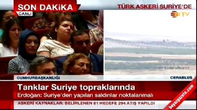 Cumhurbaşkanı Erdoğan'ın bu sözleri dakikalarca ayakta alkışlandı İzle