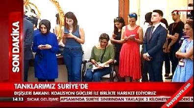 Dışişleri Bakanı Çavuşoğlu operasyonun ardından ilk kez konuştu Haberi