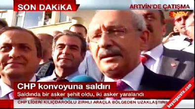 CHP lideri Kemal Kılıçdaroğlu saldırı hakkında konuştu...