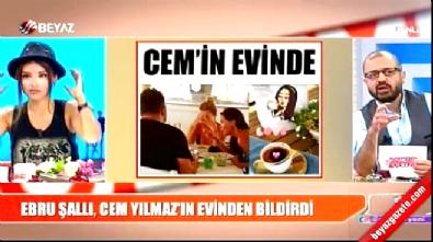 Ebru Şallı'nın Cem Yılmaz'ın evinden paylaştığı mesaj, Sinan Akçıl'ı çıldırttı
