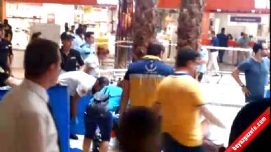 İstanbul'da bir AVM'de akıl almaz olay: 1 ölü 1 yaralı