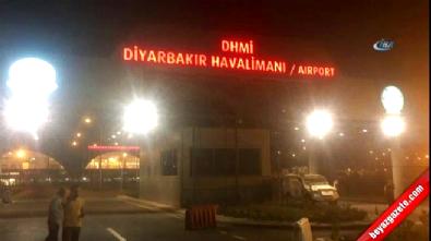 Diyarbakır Havalimanı'na roketli saldırı Video