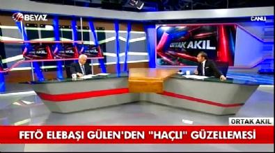Hüseyin Gülerce'den Haçlıları öven FETÖ elebaşı Gülen'e sert tepki