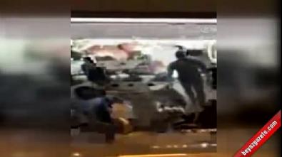 Mete Yarar'a silahlı saldırı kamerada