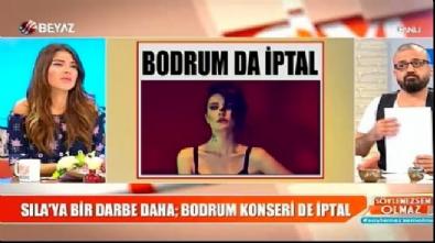 Sıla'nın Bodrum konseri de iptal edildi