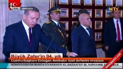 Cumhurbaşkanı Erdoğan'dan 30 Ağustos mesajı İzle