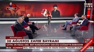 Emekli Tümamiral Semih Çetin canlı yayını terk etti İzle