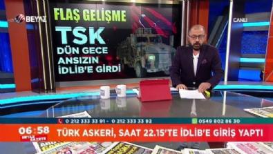 Mehmetçik, 12 araç ve 80 askerle İdlib'e girdi