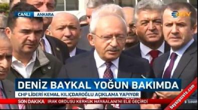 Kılıçdaroğlu'ndan 'Baykal' açıklaması