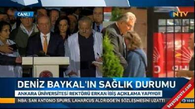 Baykal'ın doktoru: Hastalığı ciddi, kanama ve ödem en üst düzeyde