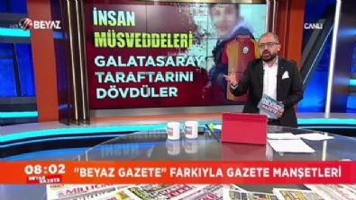 Galatasaray taraftarını dövenler, yakalandı