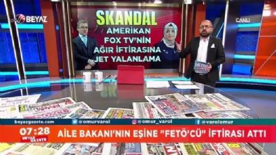 Ömür Varol'dan İsmail Küçükkaya'ya kritik hatırlatma ''Haber müdürünüz FETÖ'den tutuklu değil mi?