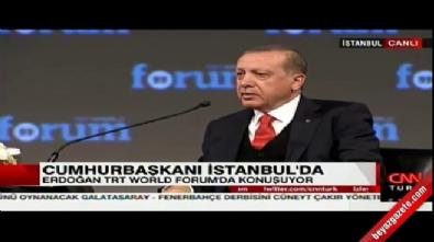 Cumhurbaşkanı Erdoğan: Böyle bir dünyada yaşamak istemiyorum
