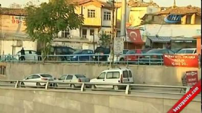 Başkent'te film sahnelerini aratmayan çatışma
