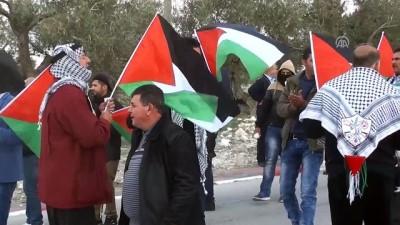 Batı Şeria'daki gösterilere müdahale - NABLUS