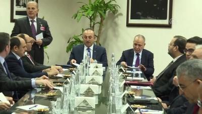Dışişleri Bakanı Çavuşoğlu'nun kabulü - ANKARA