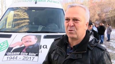 Halk ozanı Kızıltuğ son yolculuğuna uğurlandı - SİVAS
