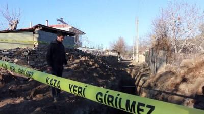 Kanalizasyon çalışmasında tarihi kalıntı bulundu - DENİZLİ