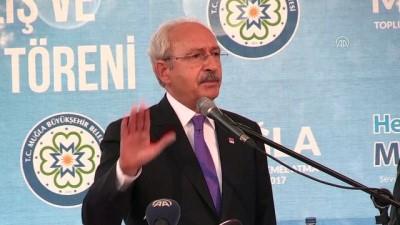 Kılıçdaroğlu: 'Belediye başkanlarımıza her türlü baskıyı yapıyorlar' - MUĞLA