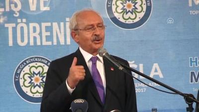 Kılıçdaroğlu: 'Bu ülkede şu anda tek adam rejimi var' - MUĞLA