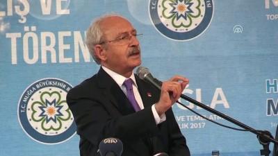 Kılıçdaroğlu: 'Tüyü bitmemiş çocuk vergi ödeyecek, Ankara'daki beyler vergi ödememek için her türlü numarayı yapacak' - MUĞLA