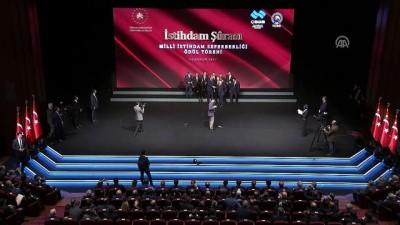 Milli İstihdam Seferberliği Ödül Töreni (1) - ANKARA