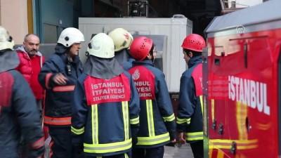 Topkapı'da iş merkezinde yangın - İSTANBUL
