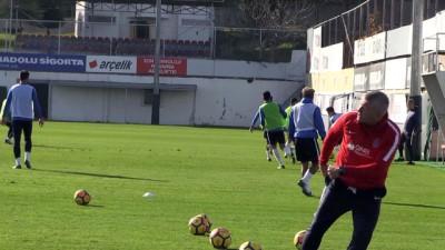 Trabzonspor, Bursaspor maçı hazırlıklarını sürdürdü - TRABZON